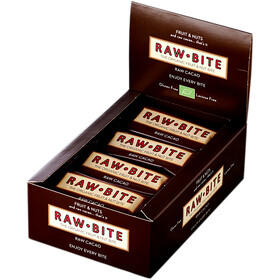 RAWBITE Bar Box 12x50g, cacao